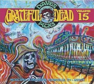 <i>Daves Picks Volume 15</i> 2015 live album by Grateful Dead