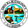 Official seal of DeKalb County
