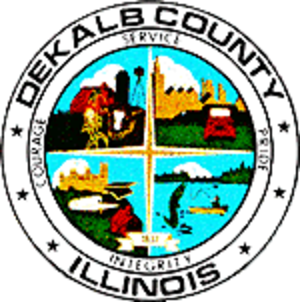DeKalb County, Illinois - Image: De Kalb County il seal