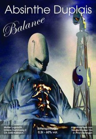 Duplais Balance - Image: Duplais Balance Bottle Label