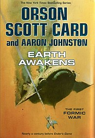 <i>Earth Awakens</i> book by Orson Scott Card and Aaron Johnston