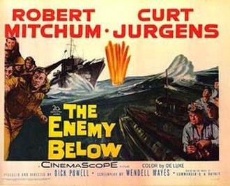 The Enemy Below - Movie Poster