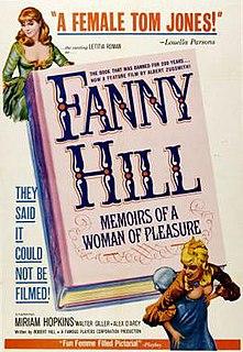<i>Fanny Hill</i> (1964 film) 1964 film by Russ Meyer, Albert Zugsmith