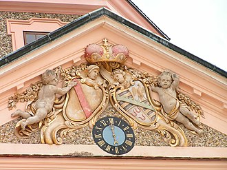 Schloss Favorite (Rastatt) - Image: Favourite Arms