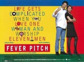 <i>Fever Pitch</i> (1997 film) 1997 British film directed by David Evans