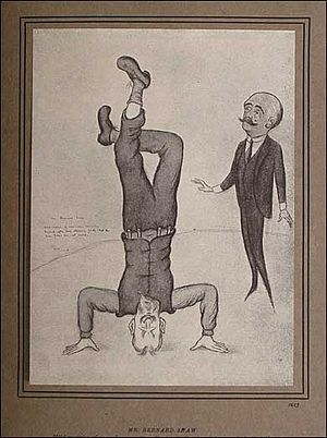 Fifty Caricatures - Image: Fifty caricatures shaw 1913
