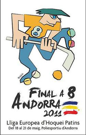 2010–11 CERH European League - Image: Final 8 Andorra 2011