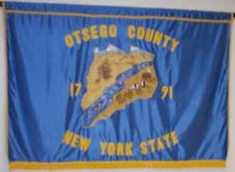 Otsego County, New York - Image: Flag of Otsego County, New York