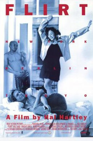 Flirt (1995 film) - Image: Flirt Film Poster