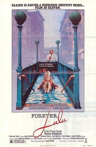 Forever, Lulu (1987 film) - Theatrical release poster