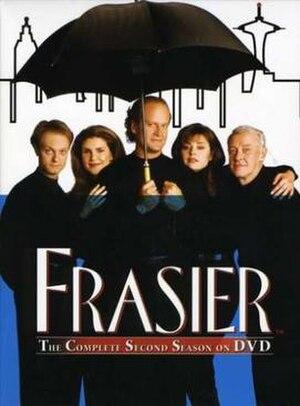 Frasier (season 2) - DVD cover