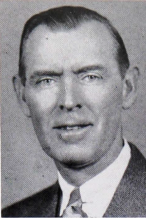 Fred Brice - Brice pictured in The Prism 1939, Maine yearbook