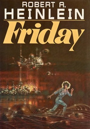 Friday (novel) - First Edition cover of Friday