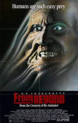 From Beyond (film) - Theatrical release poster