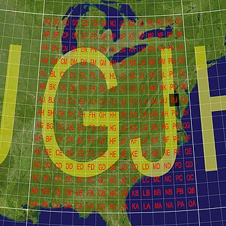 World Geographic Reference System - The GJ local grid