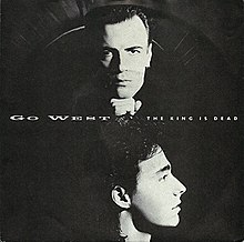 The king is dead go west song wikipedia go west the king is dead 1987 single coverg malvernweather Image collections