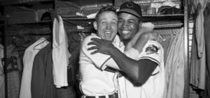 1948 World Series - Image: Gromek Doby