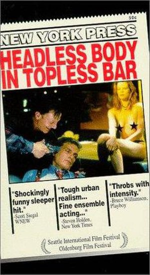 Headless Body in Topless Bar - Theatrical release poster