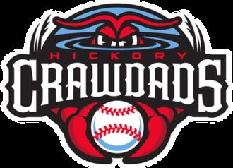 Hickory Crawdads - Image: Hickory Crawdads