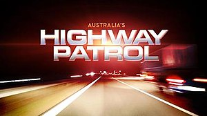 Highway Patrol (Australian TV series) - Image: Highway Patrol promotional title card