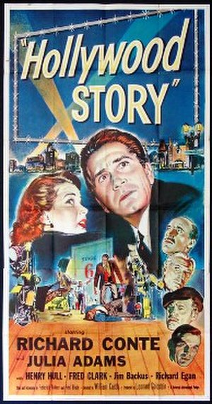 Hollywood Story - Theatrical release poster