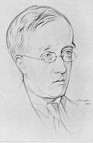 Imogen Holst -  Gustav Holst circa 1920, drawn by William Rothenstein