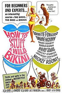 <i>How to Stuff a Wild Bikini</i> 1965 film by William Asher