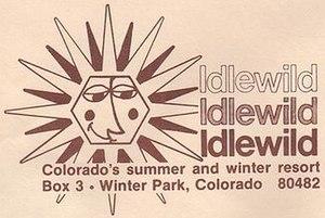 Ski Idlewild - Older Ski Idlewild logo used in the 60s and 70s