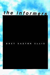 <i>The Informers</i> novel by Bret Easton Ellis