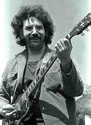 Jerry Garcia - Jerry Garcia in 1969