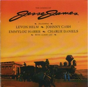 The Legend of Jesse James - Image: Jesse James album cover