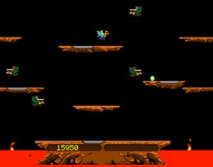 Joust (video game) - Image: Joustarcadegame