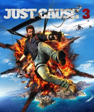 Just Cause 3 - Image: Just Cause 3 cover art