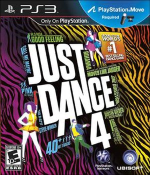 Just Dance 4 - North American Box Art for the PlayStation 3 version