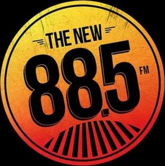 KCSN - Image: KCSN & KSBR The New 88.5 FM logo