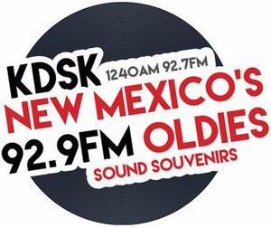 KDSK (AM) - Image: KDSK Sound Souvenirs 1240 92.7 92.9 logo