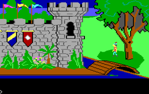 King's Quest I - Opening scene of King's Quest
