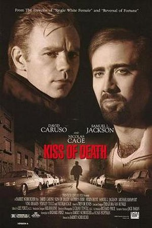 Kiss of Death (1995 film) - Promotional film poster