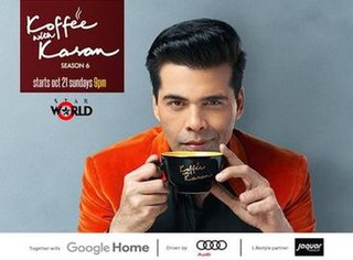 <i>Koffee with Karan</i> television series
