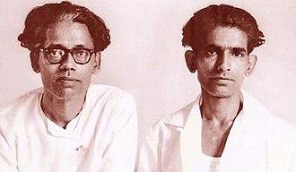 Krishnan–Panju - Krishnan (left) and Panju (right)