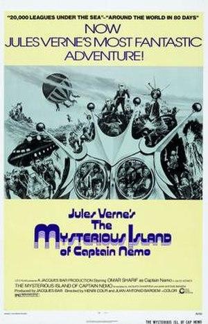 La isla misteriosa y el capitán Nemo - Image: La Isla misteriosa y el capitán Nemo Film Poster