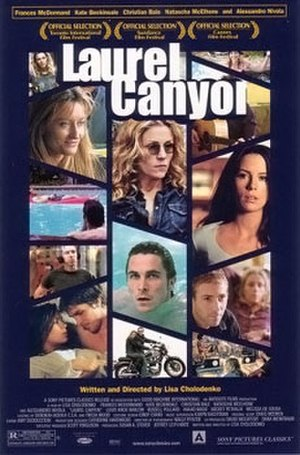 Laurel Canyon (film) - Theatrical release poster