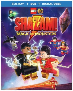 <i>Lego DC: Shazam!: Magic and Monsters</i> 2020 animated superhero film