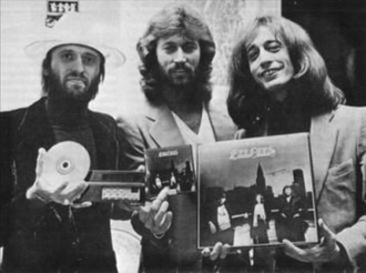 Living Eyes (Bee Gees album) - The first ever CD