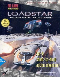 <i>Loadstar: The Legend of Tully Bodine</i> 1994 video game