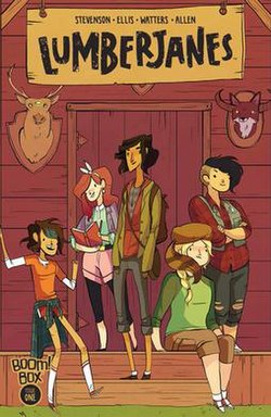 Image result for lumberjanes