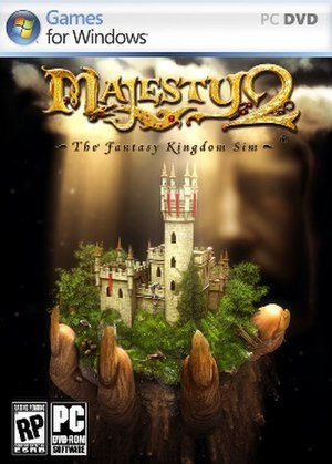 Majesty 2: The Fantasy Kingdom Sim - Image: Majesty 2 The Fantasy Kingdom Sim Cover