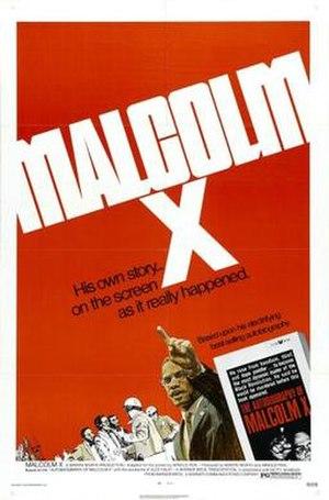 Malcolm X (1972 film) - Film poster