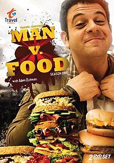 <i>Man v. Food</i> (season 1) season of television series