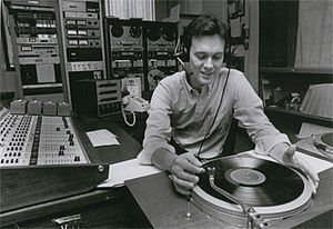 WKMS-FM - Former Program Director Mark Welch in 1981, hosting a classical music show called Masterwork's Showcase.